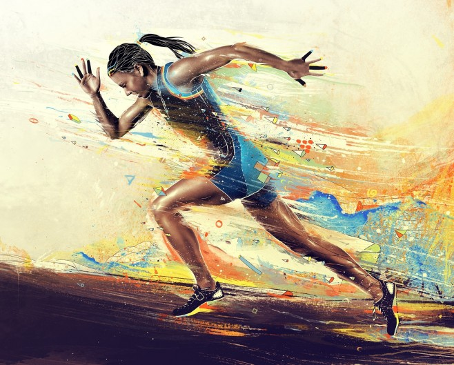 girl_athlete_running_paint_smeared_62133_3840x216011