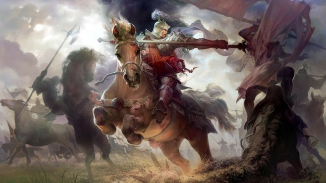 knights fantasy art armor horses battles artwork 1920x1080 wallpaper_www.wallmay.net_99