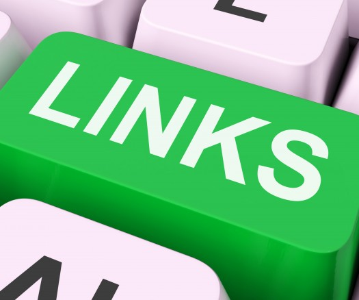 Links Key Shows Backinks Linking And Seo