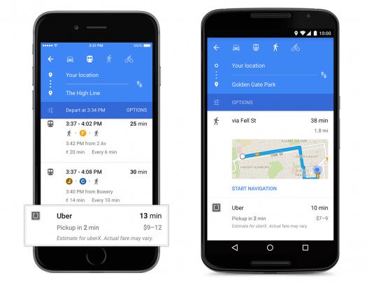 uber-googlemaps