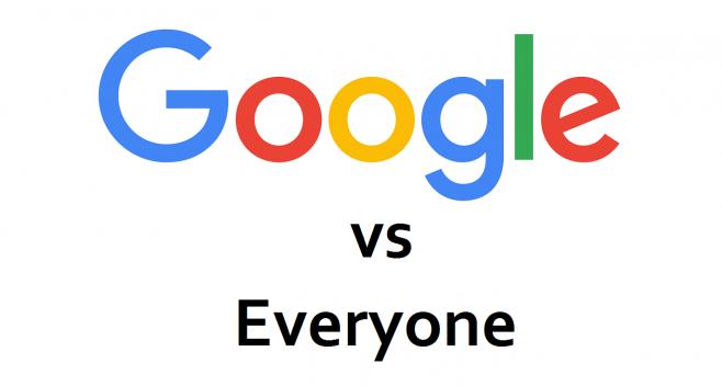 google vs competitors