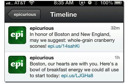 Boston Bombing - Epicurious