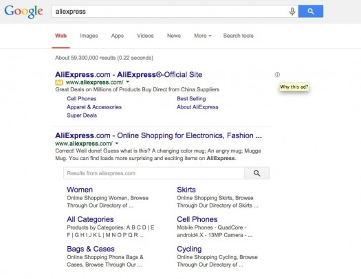 Search from SERP