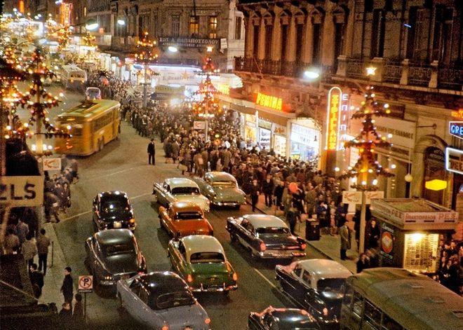 Η Αθήνα του 1960 (in color)
