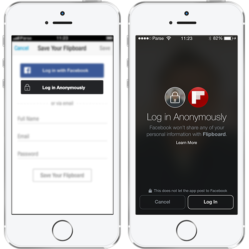 facebook-app-anonymous-login