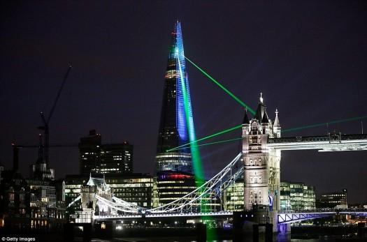 Τα εγκαίνια του Shard στο Λονδίνο